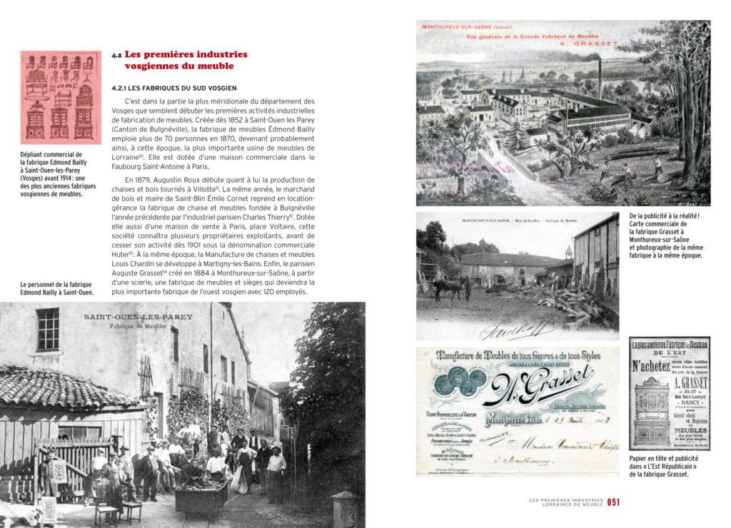 LAmeublement En Lorraine Ans DAventure Industrielle  Vademecum