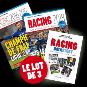 Le lot de 3 Racing LOT DE 3