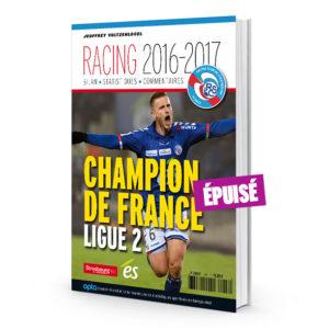 Racing 2016-2017 (couv) ÉPUISÉ