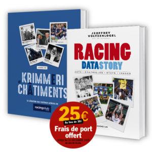 RacingDataStory + Racingstub (lot)