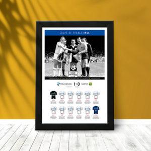 Coupe France 1966 (poster encadré) 02