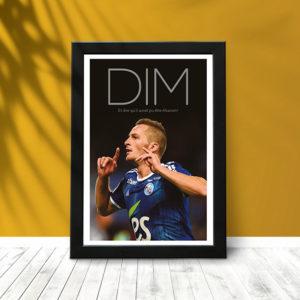 DIM L'Alsacien (poster encadré)