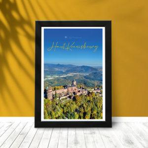 Le Haut-Koenigsbourg (poster encadré) 02